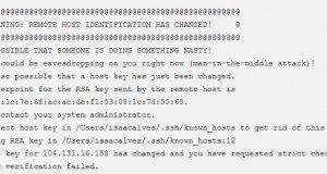 SSH ошибка при защищенном копировании SCP